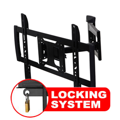 A431ABLK Professional Full motion Cantilever Bracket with Locking Feature