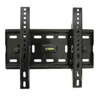 A02BLK Ultra flat tilting bracket - small