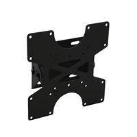 A102ABLK Highly durable tilting bracket - small