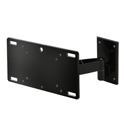 A17CBLK Slim single arm cantilever bracket