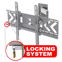 A406BSLV Best selling professional cantilever bracket with locking feature