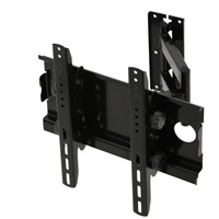 A408BLK Full motion single arm cantilever bracket - medium