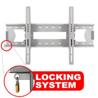 A416BSLV Slim line tilting bracket with locking feature