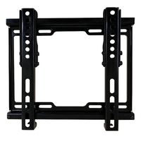 A550BLK Ultra Flat Tilting Bracket - Small