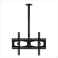 C456ABLK Professional long length rotating flat ceiling bracket - large