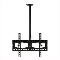 C456BBLK Professional long length rotating flat ceiling bracket - large
