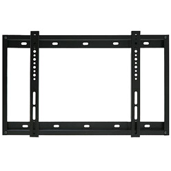SLIMLINE1BLK Super slim line flat bracket - small