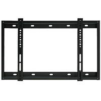 SLIMLINE3BBLK Super slim line flat bracket - large