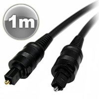 TOSLINK1CAB HIGH QUALITY TOSLINK OPTICAL CABLE