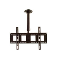 C356BBLK Professional medium length rotating flat ceiling bracket - large