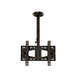 C391BLK Professional medium length rotating flat ceiling bracket - medium